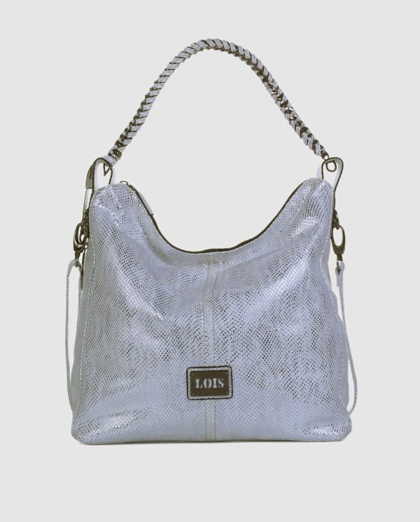 BOLSO TIPO HOBO LOIS LITTLE ROCK BLANCO